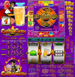 free slot machine cash and curry